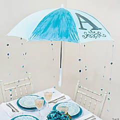 Baby Shower Umbrella Decoration Idea