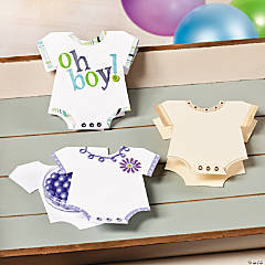 Onesie Favors Idea