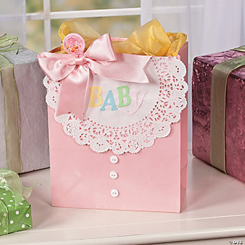 baby gift bag idea oriental trading