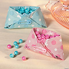 Napkin Diaper Treat Cup Idea