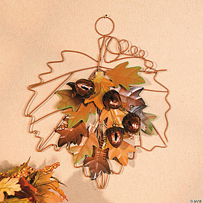Fall Leaf Plaque