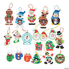 Foam Christmas Ornament Craft Kit Assortment
