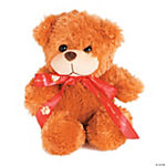 Plush Bear With Personalized Ribbon