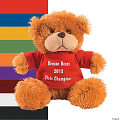 Personalized Plush Bears With T-Shirt