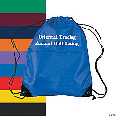 Small Personalized Drawstring Backpacks