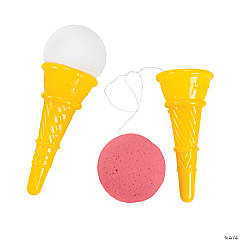 Plastic Jumbo Ice Cream Cone Shooter