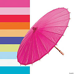 Paper Solid Color Parasols