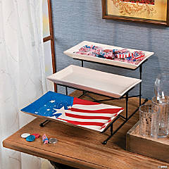 Patriotic Serving Set