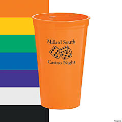 Personalized Casino Tumblers