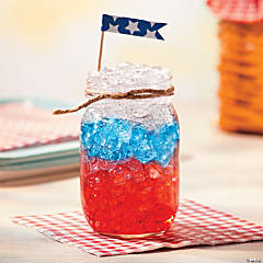 Mason Jar Patriotic Punch Recipe