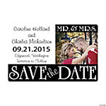 Customized Mr. & Mrs. Save the Date Photo Magnets