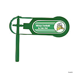 Green Team Spirit Custom Photo Giant Noisemakers