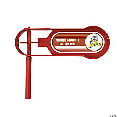 Burgundy Team Spirit Custom Photo Giant Noisemakers
