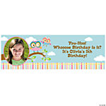 You're A Hoot Small Custom Photo Banner