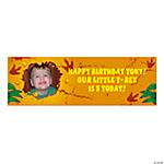 Dino-Mite Medium Custom Photo Banner