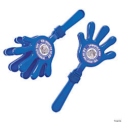 Blue Team Spirit Custom Photo Hand Clappers