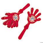 Red Team Spirit Custom Photo Hand Clappers