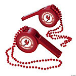 Red Team Spirit Custom Photo Giant Whistles