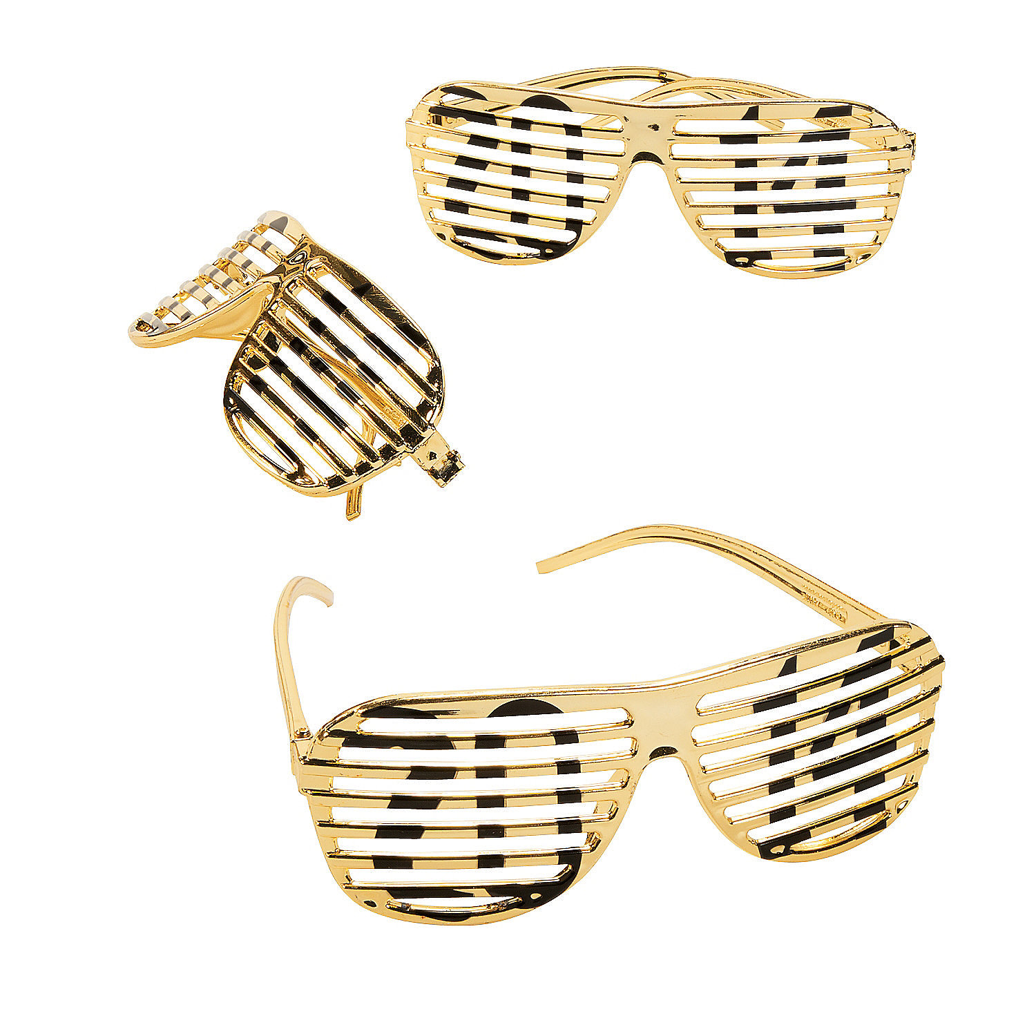 Gold Sunglasses 2014 2014 Gold Metallic Shutter