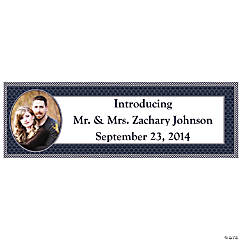 Nautical Wedding Large Custom Photo Banner