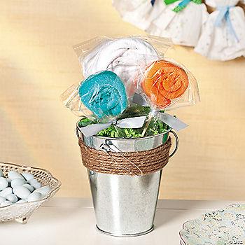 baby shower bouquet idea