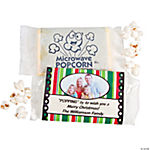 Holiday Custom Photo Microwave Popcorn