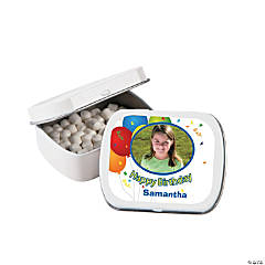 Birthday Custom Photo Mint Tins