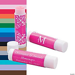Personalized Monogram Lip Covers