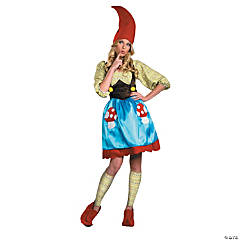 Ms. Gnome Large Adult Women's Costume