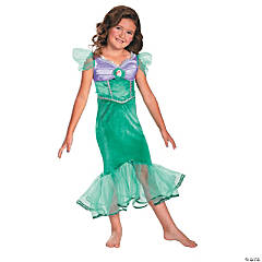 Disney Princess Ariel Sparkle Girl's Costume