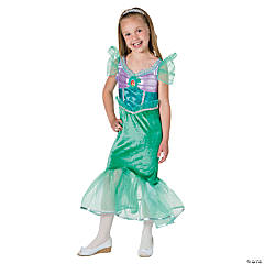Disney Princess Ariel Sparkle Medium Girl's Costume