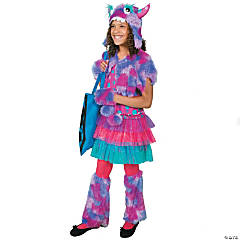Polka Dot Monster Small Girl's Costume