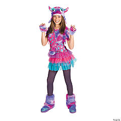 Polka Dot Monster Large Girl's Costume