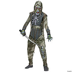 Rotting Zombie Ninja Boy's Costume
