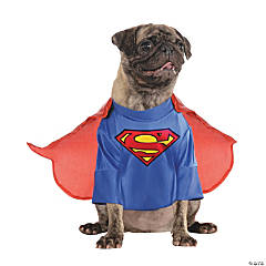 Medium Superman™ Dog Costume