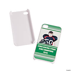 Team Spirit Custom Photo White iPhone® 4/4S Case - Green