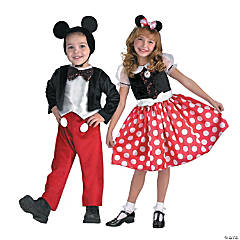 Mickey & Minnie Mouse Couples Costumes