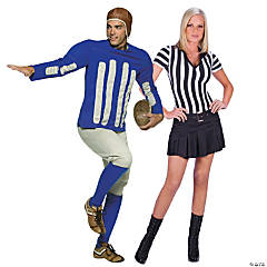 Football Player And Referee Couples Costumes