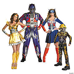 Transformers Group Costumes