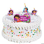 Dora The Explorer™ Dora's Adventure Molded Candle Set