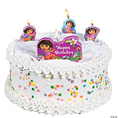 Dora The Explorer™ Dora's Adventure Birthday Candles