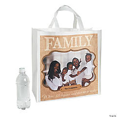 Family Custom Photo Tote