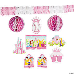 Disney Princess 1st Birthday Room Decorating Kit
