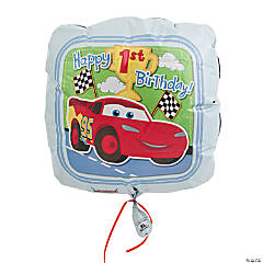 Disney's Cars 1st Birthday Champ Mylar Balloon