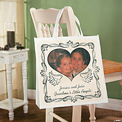 Angel Custom Photo Tote