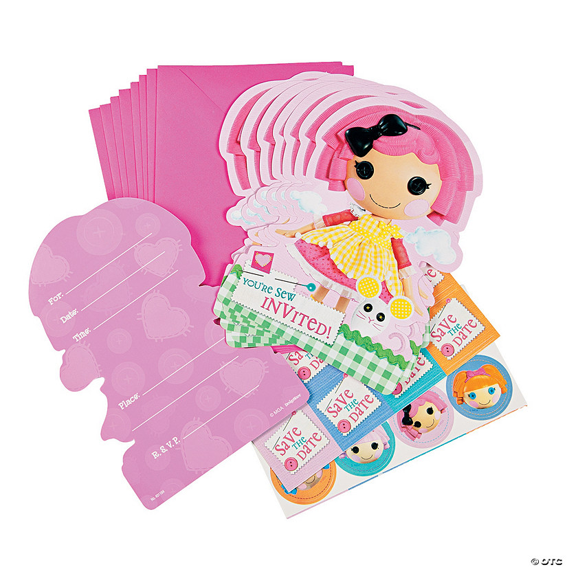 sc 1 st  Oriental Trading & Lalaloopsy™ Party Invitations