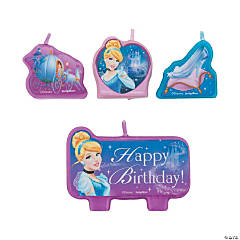 Cinderella Sparkle Molded Candles