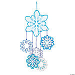 Lacing Snowflake Mobile Craft Kit