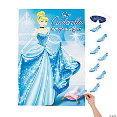 Paper Cinderella Sparkle Party Game