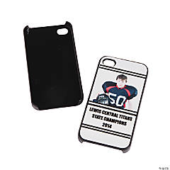 Team Spirit Custom Photo Black iPhone® 4/4S Case - Black